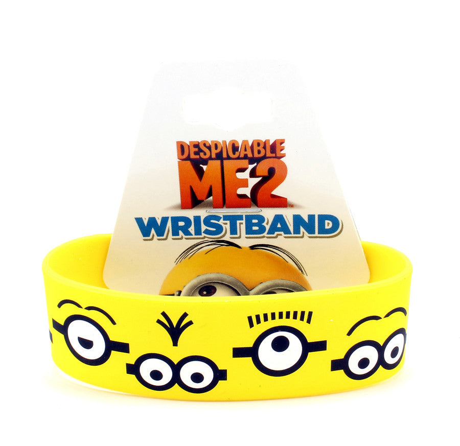 Minion Eyes Wristband - THATWEBSTORE