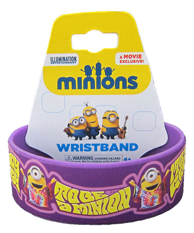 It's A Groovy Day To Be A Minion Wristband