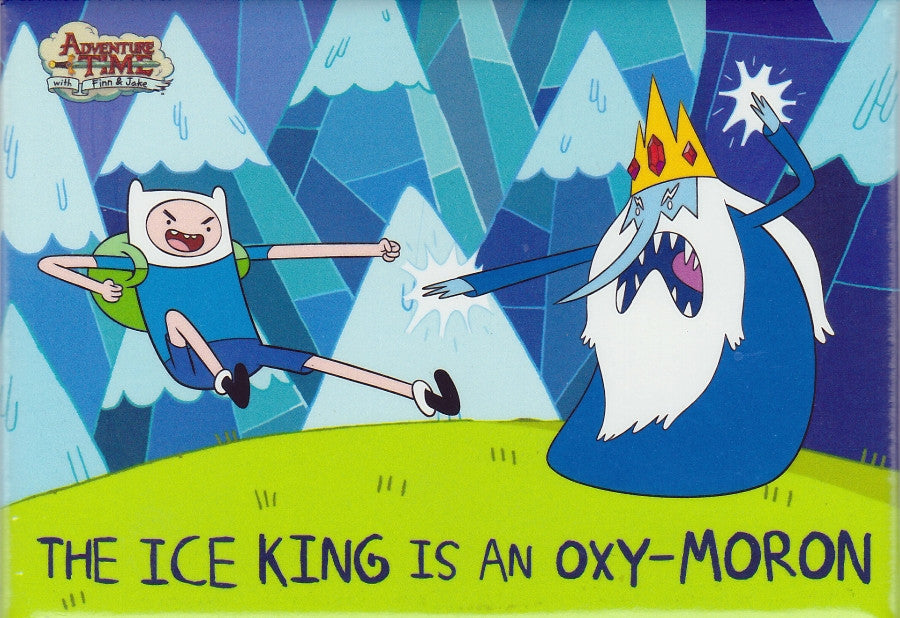 The Ice King is an Oxy-Moron Magnet