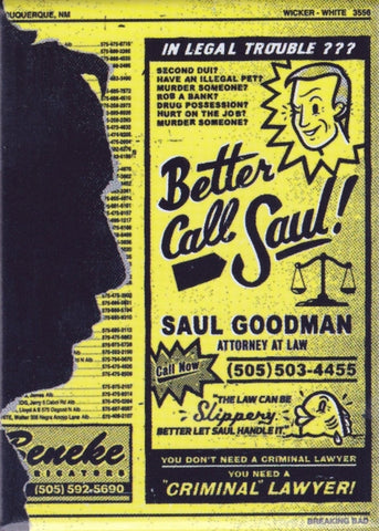Better Call Saul Magnet