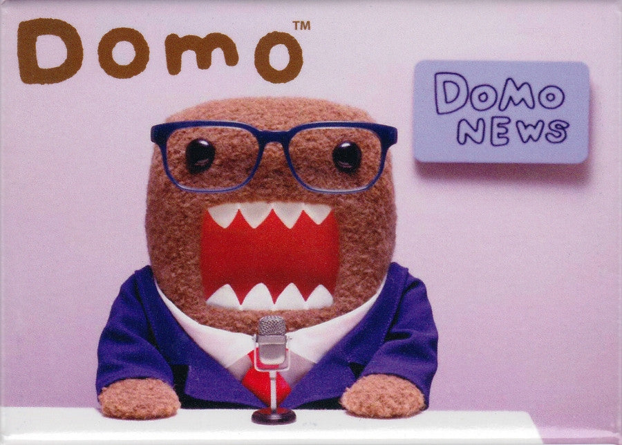News Anchor Domo Magnet - THATWEBSTORE