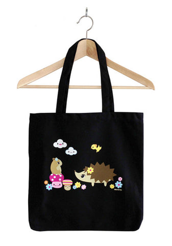 Hedgehog and Hamster Tote Bag