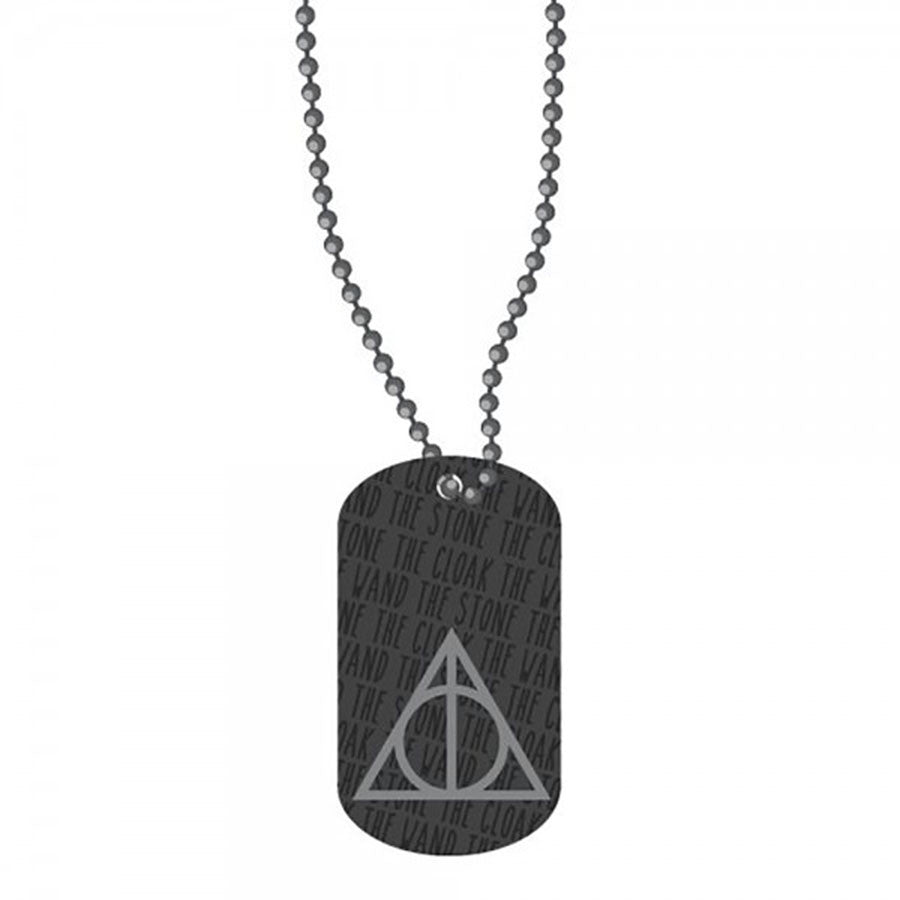 Harry Potter and The Deathly Hallows Dog Tag