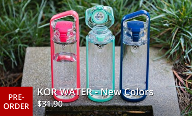 KOR Delta Hydration Vessles - KOR Water - Water Bottle - Sports Bottle