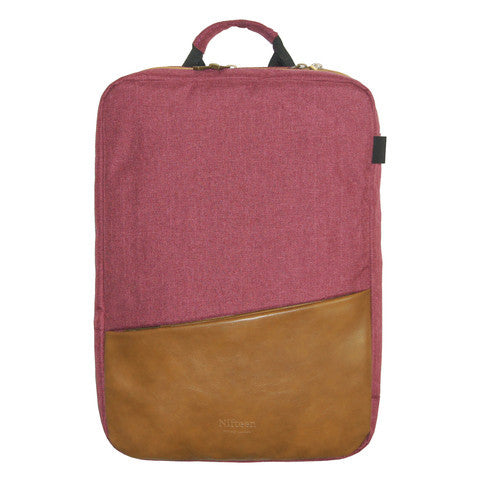 "Nifteen Canvas Dual Backpack for 15"" Laptop"