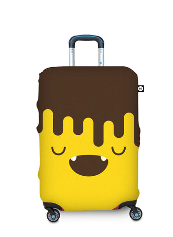Benga Luggage Cover Chocobanana