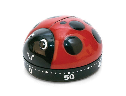 Kikkerland Ladybugs Kitchen Timer
