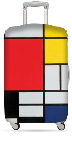 Piet Mondrian Composition with Red, Yellow, Blue and Black
