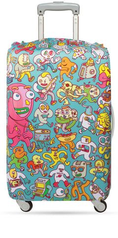 LOQI Luggage Cover ARTISTS Collection by BROSMIND