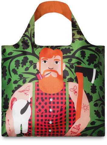 LOQI Tote Bag COOL PEOPLE Collection by Cristina Caramida