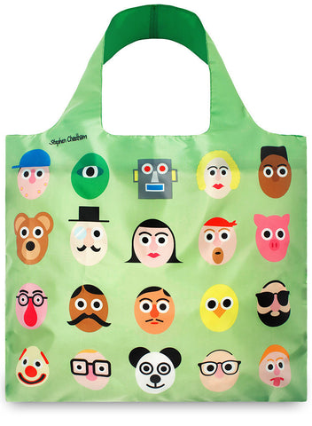 LOQI Tote Bag ARTISTS Collection by Stephen Cheetham