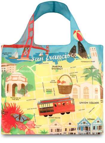 LOQI Tote Bag URBAN Collection by Melissa Mackie