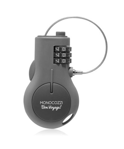Monocozzi | Bon Voyage Portable Retractable Lock (3-Digits)