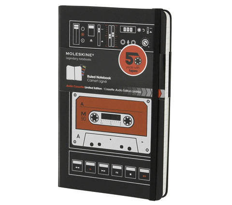 Moleskine Limited Edition Audio Cassette Notebook - Black