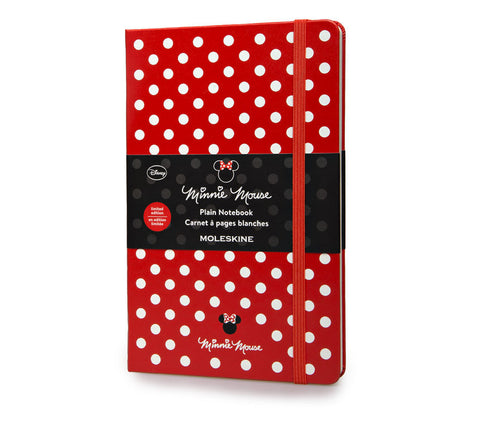 Moleskine Limited Edition Minnie Mouse Notebook - Large - Hard Cover