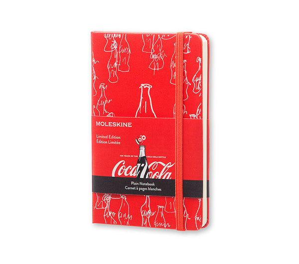 Moleskine Limited Edition Notebook Coca Cola Plain Red