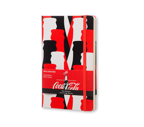 Moleskine Limited Edition Notebook Coca-Cola - Plain - Red - Hard Cover