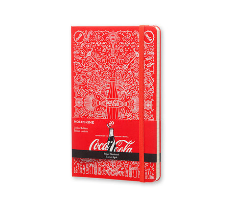 Moleskine Limited Edition Notebook Coca-Cola - Ruled - Red - Hard Cover