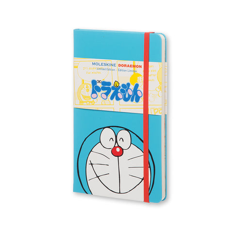 Moleskine Limited Edition Notebook Doraemon - Plain - Hard Cover