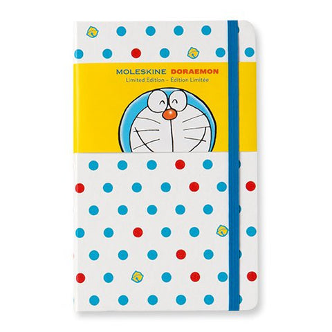 Moleskine Limited Edition Notebook Doraemon - Ruled - Hard Cover