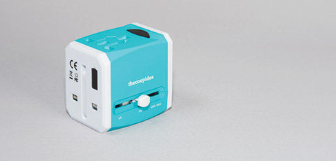 Thecoopidea Crate Universal Travel Adapter With 2 USB Ports