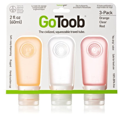 Humangear GoToob 55mL (pack of 3)