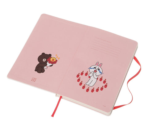 Moleskine Limited Edition LOVE, LINE FRIENDS Limited Edition Large Notebook