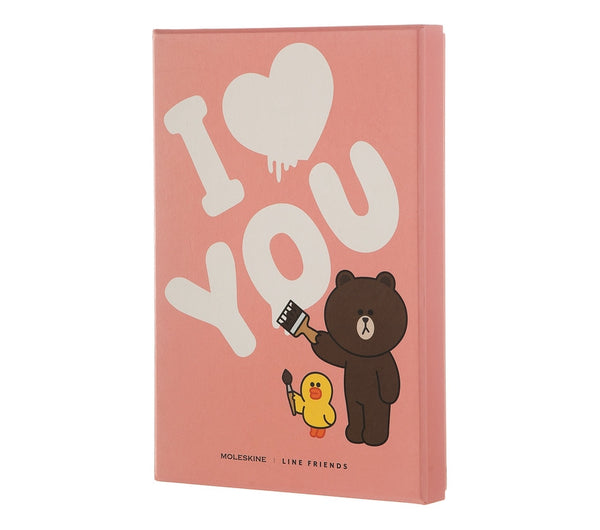 Moleskine Limited Edition Love Line Friends Limited