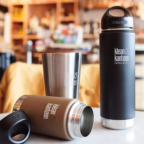 Klean Kanteen Vacuum Insulated Wide 20oz (591mL)