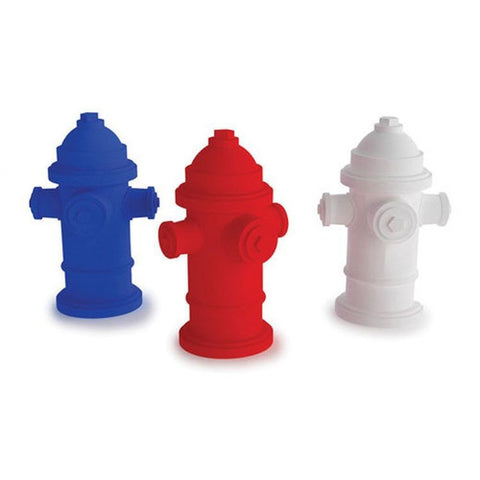 Kikkerland Fire Hydrant Erasers, Bag of 3