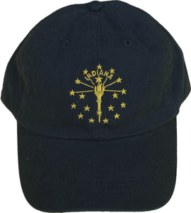 Indiana Torch and Stars Hat