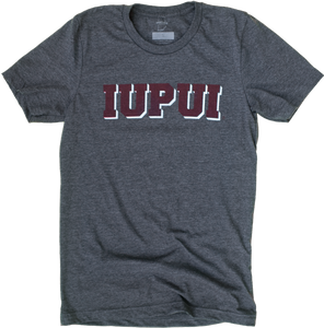 IUPUI Drop Shadow Tee