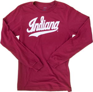 IU Indiana Hoosiers Script Long Sleeve Shirt