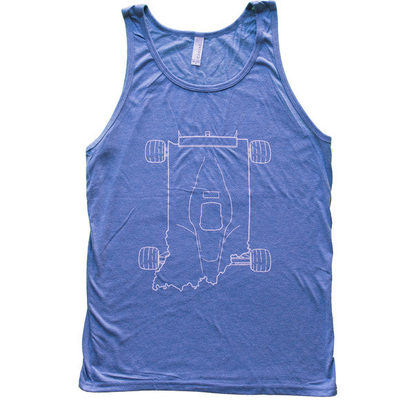 indy car tank blue