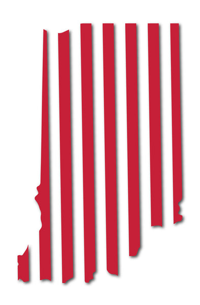 IU Candy Stripes Sticker