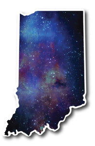 Indiana Galaxy Sticker