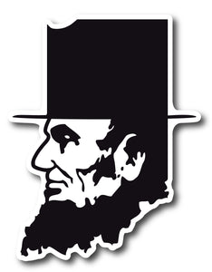 Abe Lincoln Sticker