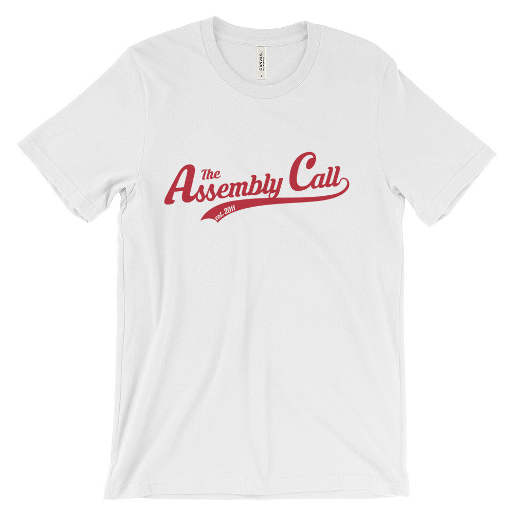 Assembly Call Script T-Shirt White