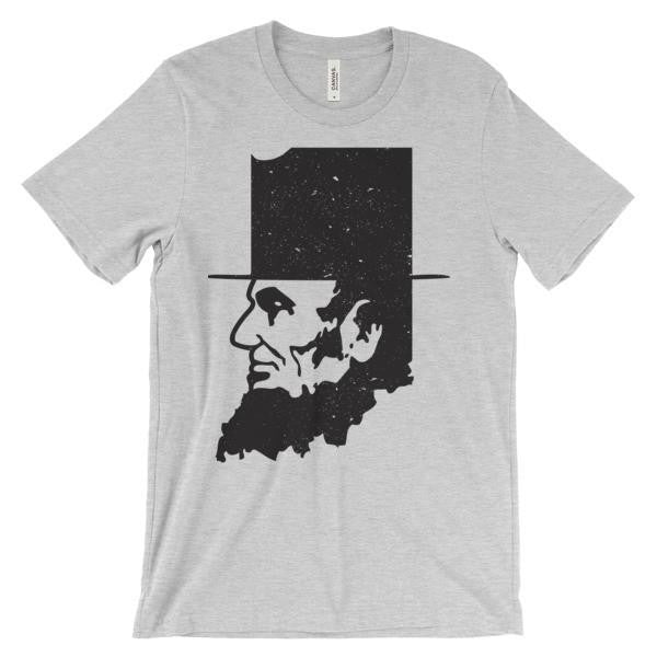 Hoosier Proud Abe Lincoln Indiana Shirt