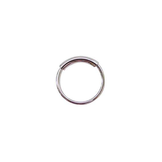 Half Double Line Ring - Set of 2
