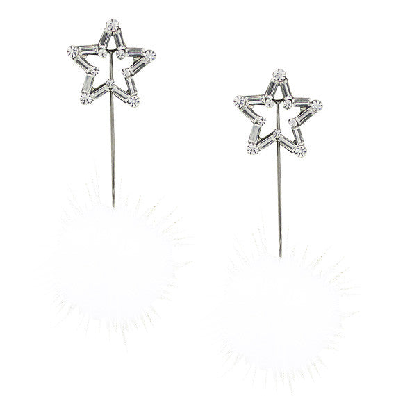 Shooting Star & Spike Unbalance Earrings