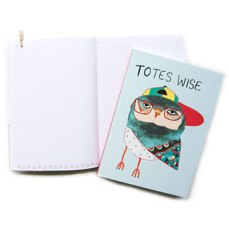 Totes Wise (NB) A5 Notebook