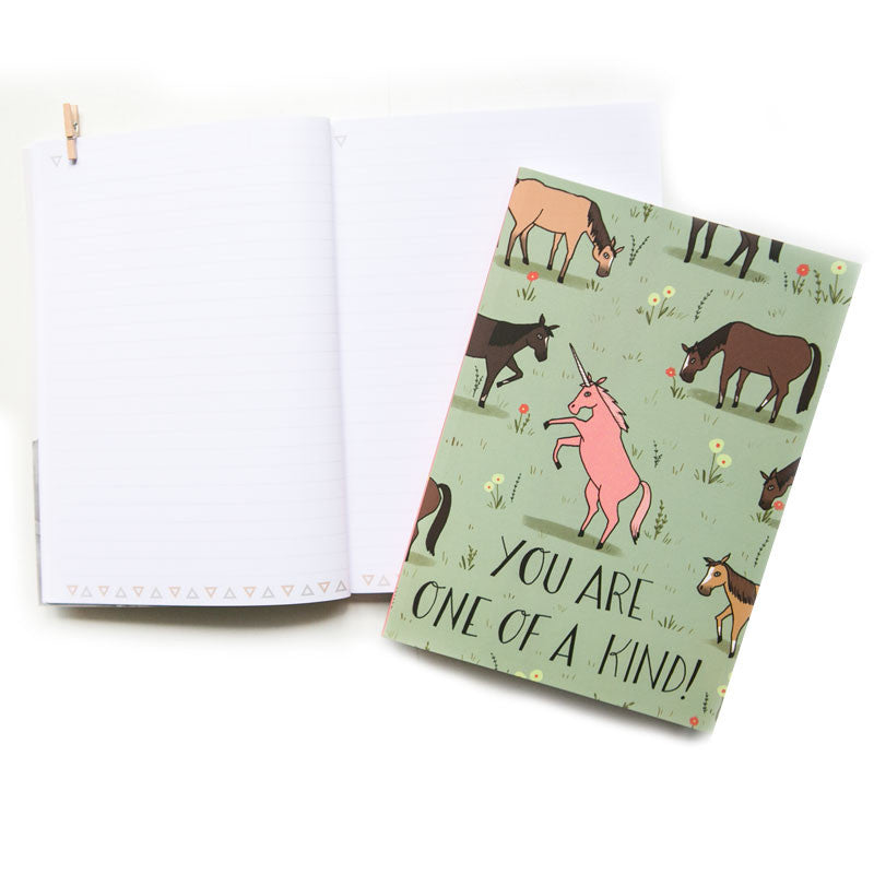 You Are One Of A Kind (NB) A5 Notebook