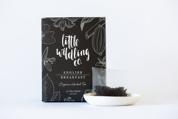English Breakfast tea bags