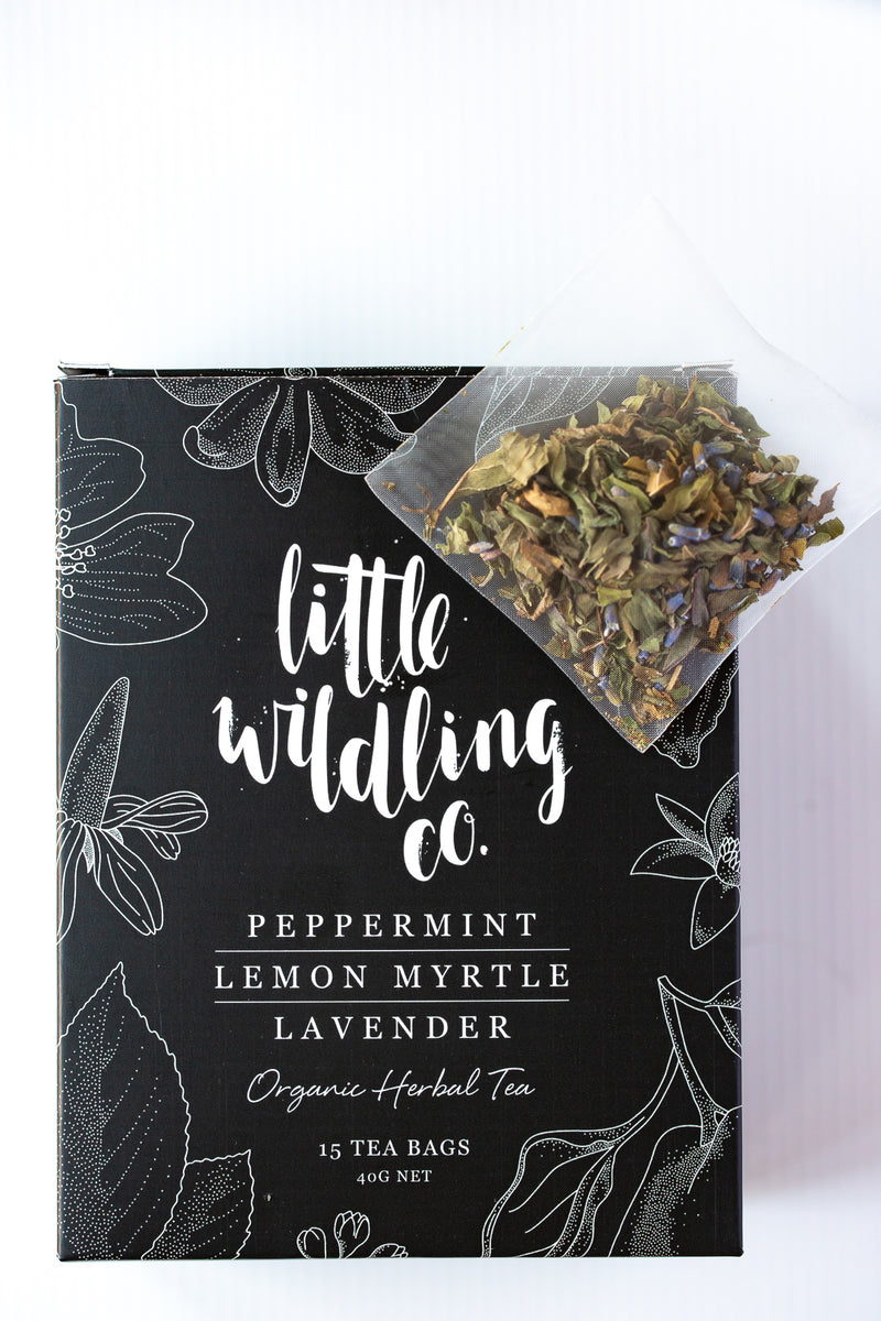 Peppermint · Lemon Myrtle · Lavender - sample