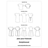 The Fulwood - Pull-on Shift Dress PDF Pattern