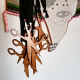 MIY Collection Scissor Pendant