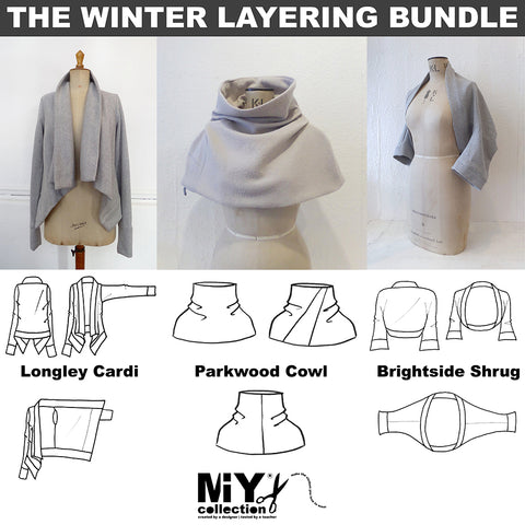 miy collection winter layering pdf pattern bundle