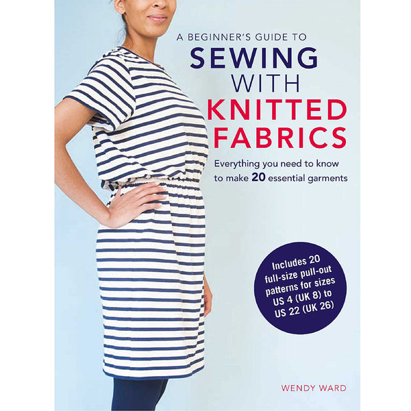beginner's guide to sewing with knitted fabrics