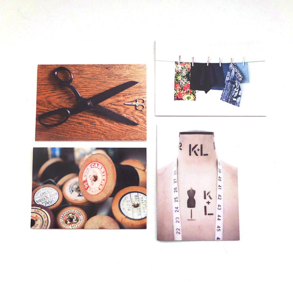 Sewing Themed Greetings Cards